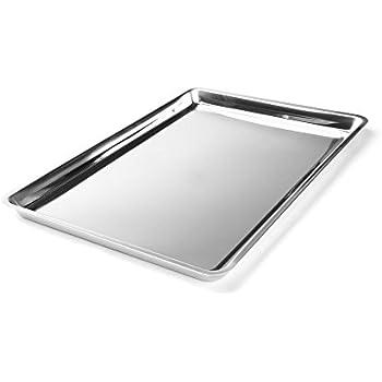 Fox Run 4855COM Jelly Roll/Cookie Pan, 16.25 x 11.25 x 0.75 inches, Metallic