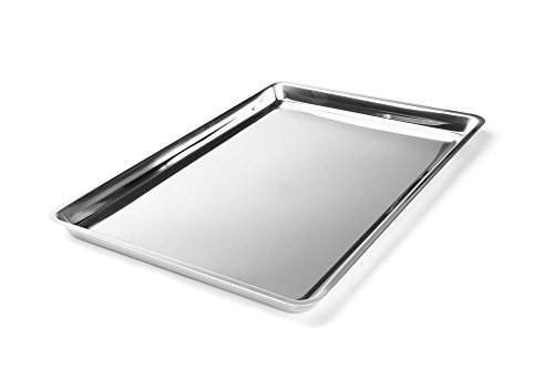 Fox Run 4855COM Jelly Roll/Cookie Pan, One Size, Stainless Steel