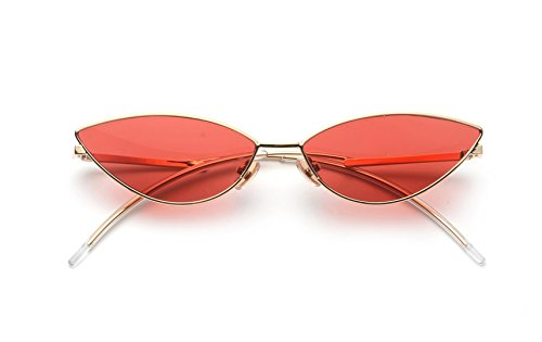 FEISEDY Fashion Designer Sunglasses Retro Small Petals Shape Arc Temple Design B2298]()