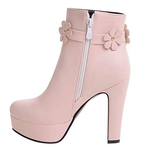 Aiyoumei Aiyoumei Donna Stivali Pink Classici Aiyoumei Pink Stivali Donna Aiyoumei Donna Classici Stivali Pink Classici B4ySwA1