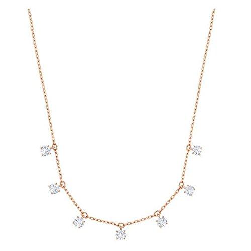 Swarovski Choker - Swarovski Attract Choker, White, Rose Gold Plating 5380061