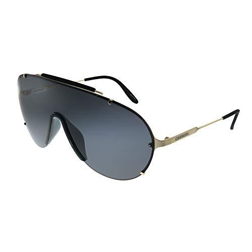 - Carrera Men's Ca129s Shield Sunglasses, Gold/Gray, 99 mm