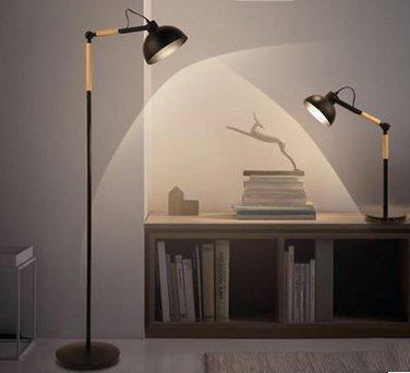 CU@EY Moderne Eisen 1-Licht ,H150cm Stehleuchte