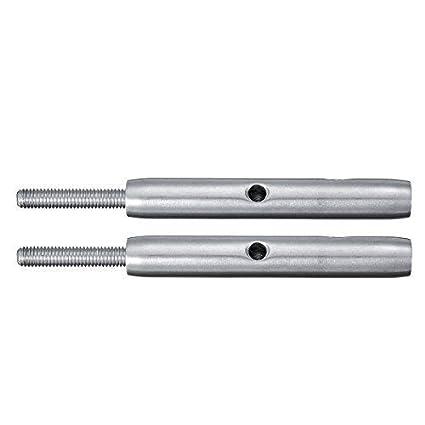 4mm ChaRLes Installation De Tendeur De C/âble En Acier Inoxydable T316 Pour Rampe De C/âble DEscalier 4Mm 5Mm