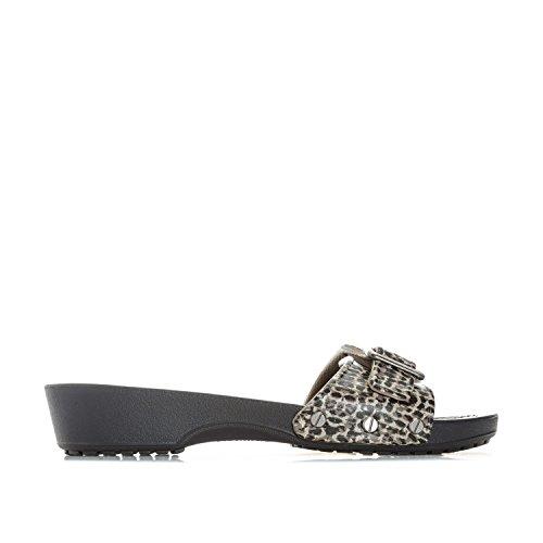 Crocs Womens Sarah Leopard W Sandal