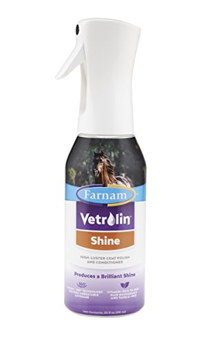 Farnam Vetrolin Shine High-Luster Coat Polish and Conditioner, 20 fl. oz.