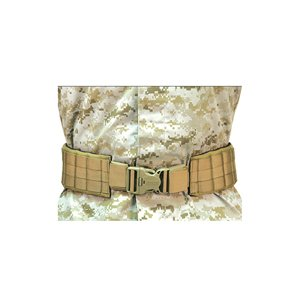 BLACKHAWK! Padded Patrol Belt and Pad - Coyote Tan, Small (Pull Blackhawk)