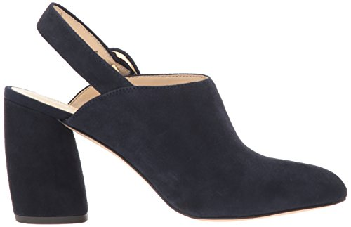 US Pump marino 's Women azul Suede Nine West Black Medium 7 Jacquerie T6qxwHzX