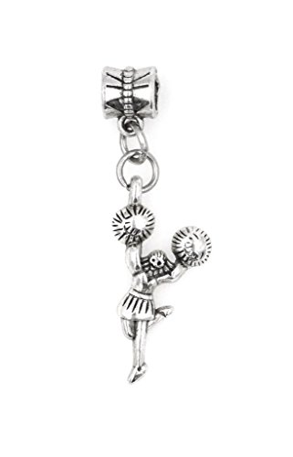 It's All About...You! Cheerleader Dangling European Bead Charm ()
