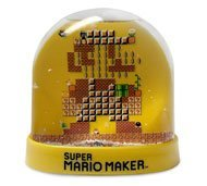 (Limited edition super Mario maker snow globe)