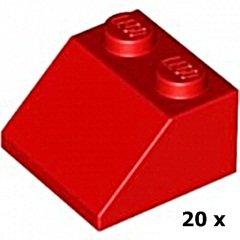 Rot Dachstein Schrägstein --- 2 x 2   45° 10 Stück Lego--3039