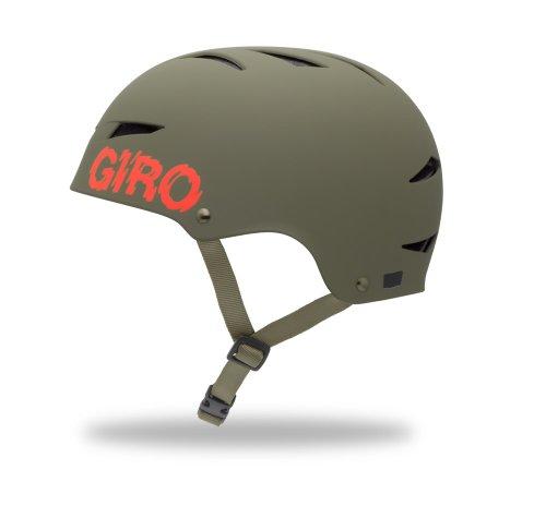 Giro Flak Multi-Sport Helmet (Matte Olive Swat, Large)