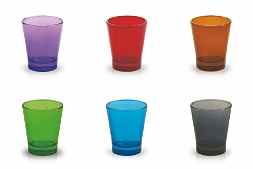 Galileo Casa Espressino Set Bicchierini caff/è 6 unit/à Multicolore