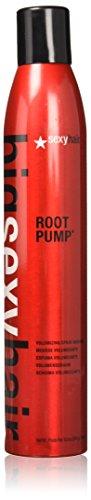 Big Sexy Hair Root Pump Plus Volumizing Spray Mousse, 10 oz, 2 (Sexy Voluptuous Volume Root Lift)