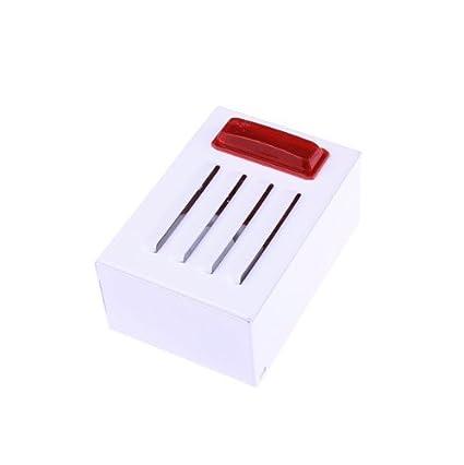 Sirena con cable con el rojo luz estroboscópica para uso en exteriores Alarma