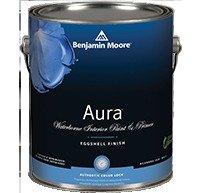 Benjamin Paint Aura Moore - 1 Quart, Aura Waterborne Interior Paint - Eggshell Finish(524)