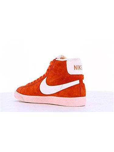 mujer Nike Zapatillas Mid Vintage para Blazer Rosa Suede nqwYZCUq