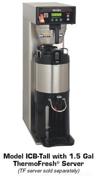 Bunn Infusion Series Coffee Brewer - Tall -ICB-DV-0005