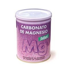 Supplement Magnesium Carbonate Powder 110 gr by Santiveri