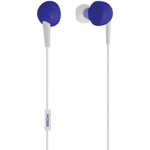 KOSS 181040 KEB6i In-Ear Earbuds with Microphone (Blue) -  190832