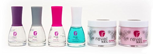 Revel Nail French Manicure Nail Dip Powder Kit
