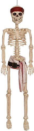 [Disney Pirates of the Caribbean Jack Sparrow Pirate Skeleton, 36