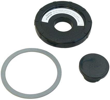 Tapa Negro licuadora + tapón + Junta referencia: kw668319 para ...