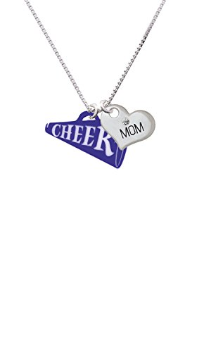 Cheer Mom Necklace (Acrylic 1.25