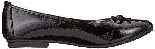 Flats Black Black Softline Women's 22163 018 21 Patent Ballet gxfnITXnq
