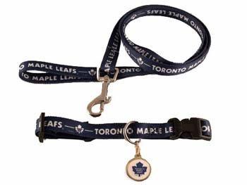 Hunter Toronto Maple Leafs Pet Combo (Includes Collar, Lead, ID Tag), Medium