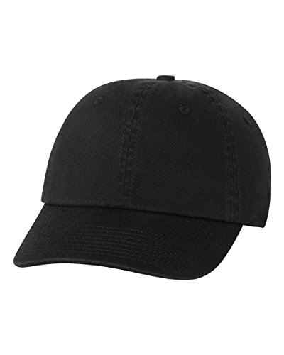 Bayside - USA-Made Unstructured Cap - 3630 - Adjustable - Black
