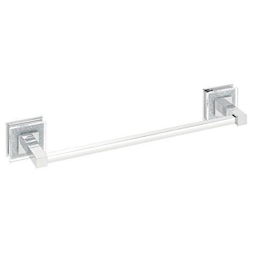 Ruvati RVA5006 Valencia 24 Towel Bar Luxury Bathroom Accessory, Crystal and Chrome by Ruvati