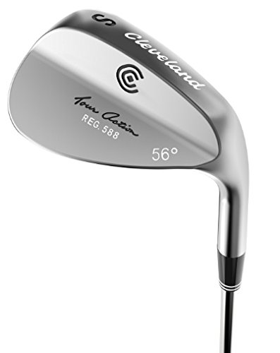 Cleveland Golf Tour Satin 588 Tour Action Wedge (Men's, Left Hand, 56 Degree)