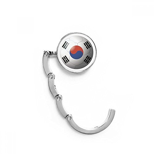 Korea National Flag Soccer Football Table Hook Folding Bag Desk Hanger Foldable Holder