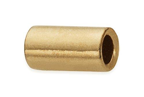 100 Pieces 14Kt Gold Filled Crimp Beads 1.6x3 mm 14kt Gold Filled Connector