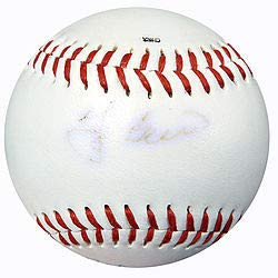 (Baseball Greats Signed Baseball With 4 Signatures Including Berra Foster and Thomson SKU #111473 - Baseball Collectible)