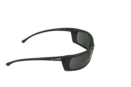Noir Arnette SLIDE Negro Sonnenbrille Gris AN4007 qPPrtY