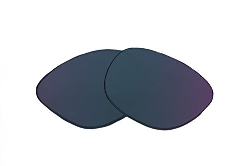 SFx Replacement Sunglass Lenses fits Dragon The Jam H2o Floatable 60mm wide (Ultimate Blue Mirror Black Pair-Polarized) (Dragon Jam Lenses)