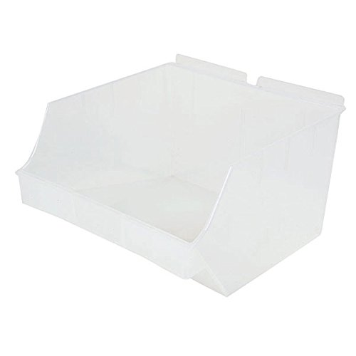 New Retail Clear Storbox Big for Slatwall 10.83''d x 11.0''w x 6.7''h by Storbox