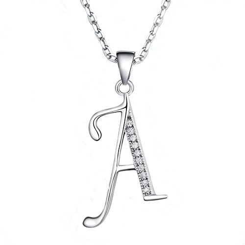 Initial 925 Silver Jewelry Pendant - 1