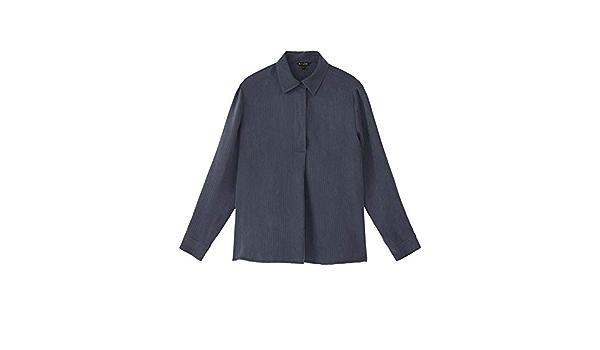 MASSIMO DUTTI 5137/531/818 - Camisa para Mujer (Aspecto ...