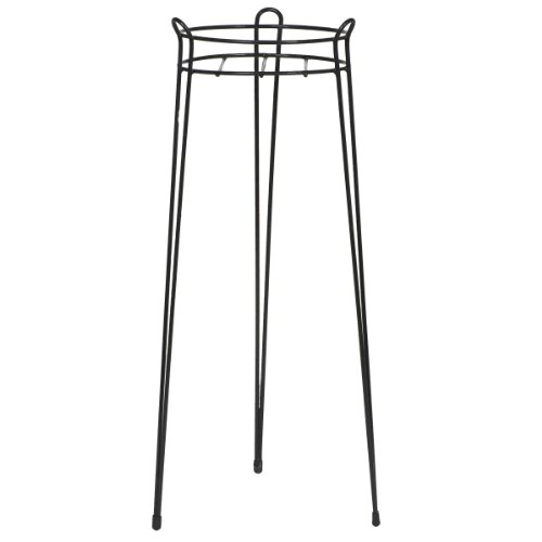 CobraCo 30-Inch Black Basic Plant Stand S1030-B (Stand Plant Single)