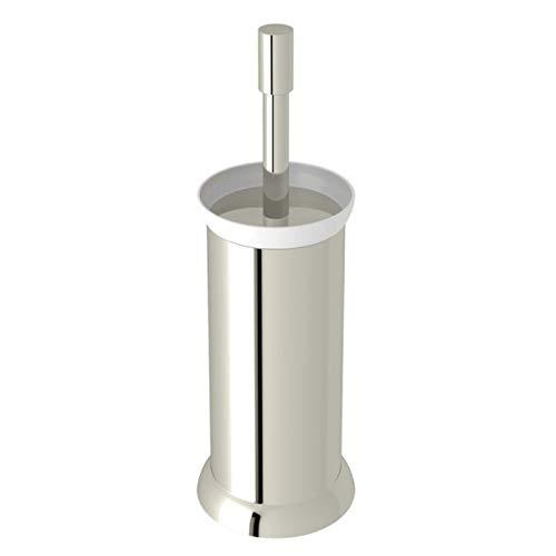 (Rohl U.6437PN Perrin & Rowe Transitional Floor Standing Toilet Brush Holder, Polished Nickel)