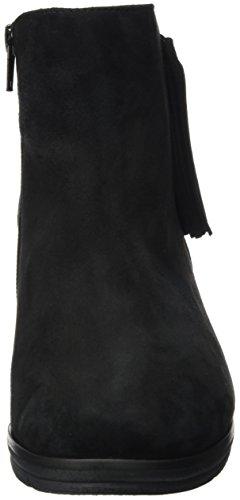 Semler Women's Mira Biker Boots Black (Schwarz-midnightblue 878) ZyVOCsPx8Y