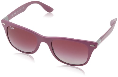 Ray-Ban WAYFARER LITEFORCE - METALLIC VIOLET Frame GREY GRADIENT DARK VIOLET Lenses 52mm - Ray Wayfarer Purple Bans