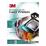 3M Commercial Office Supply Div. Products - Laser Transparency Film, 50/BX, 8-1/2x11 - Sold as 1 BX - Clear transparency film is used to create crisp, uniform transparencies with black/white laser printers and black/white copiers. by 3M