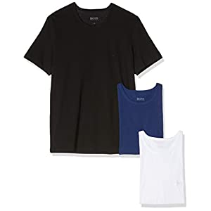 BOSS Men's T-Shirt Rn Co (Pack of 3)