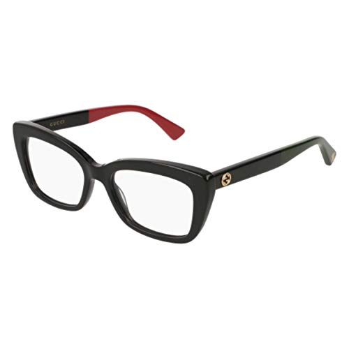 - Gucci GG 0165 O- 003 BLACK Eyeglasses