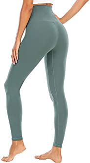 Womens Yoga Legging - Buttery Soft Tummy Control High Waist Workout Pants Sports Legging Tights 20""