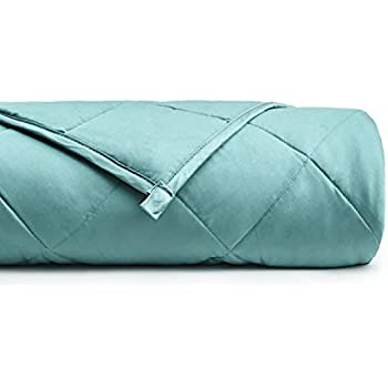 YnM Bamboo Weighted Blanket with 100% Pure Natural Bamboo Viscose | 7 lbs for 60-70 lbs kids, 41